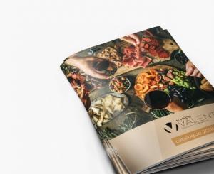 image du menu - catalogue MAison VALENTIN
