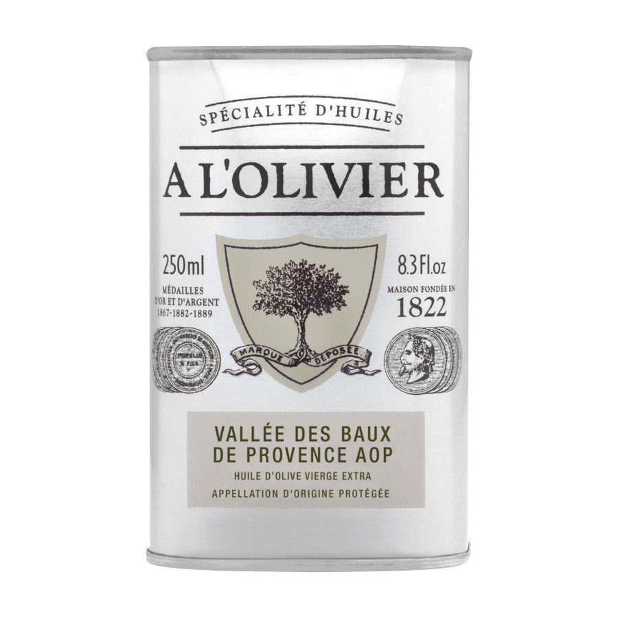 HUILE D'OLIVE DES BAUX DE PROVENCE A.O.P. 250ML