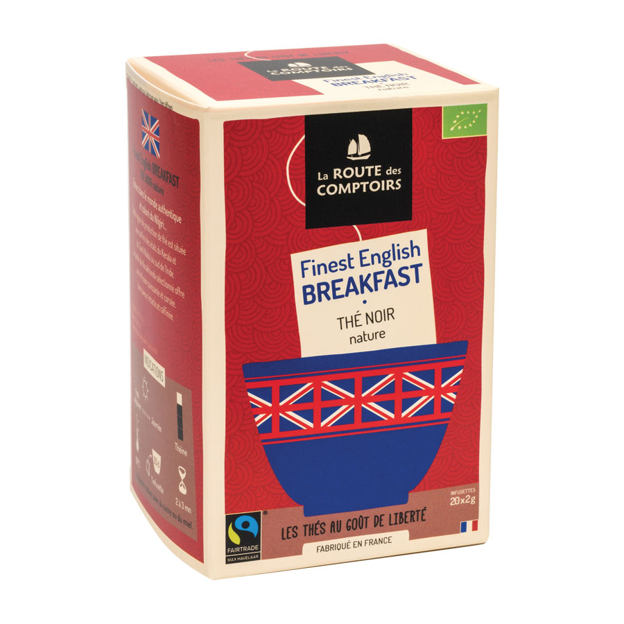 ENGLISH BREAKFAST 20 INFUSETTES