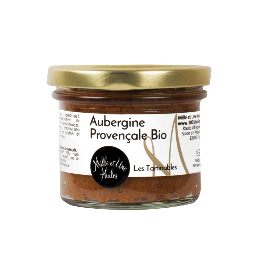 TARTINABLE D'AUBERGINE 90G