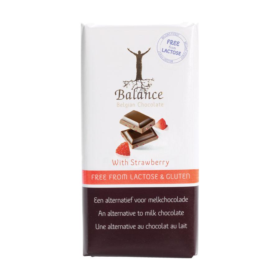 CHOCOLAT AU RIZ A LA FRAISE 85G