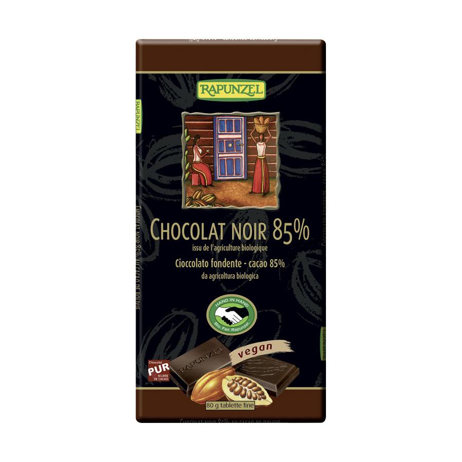 CHOCOLAT NOIR 85% 80G