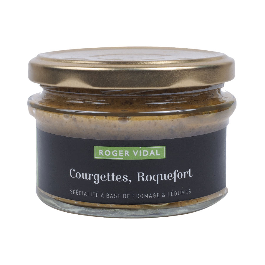 TARTINABLES COURGETTES AU ROQUEFORT 140G