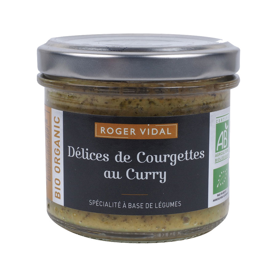TARTINABLES DELICE DE COURGETTES AU CURRY 90G