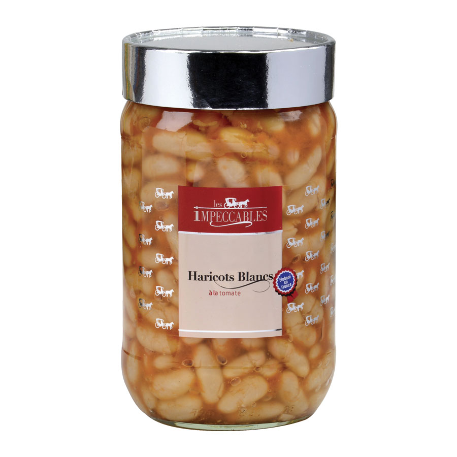 HARICOTS BLANCS TOMATE 72CL